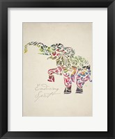 Framed Elephant Set 02