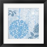 Framed Transitional Floral 1