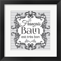 Framed French Bath Set 01
