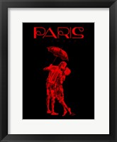 Paris Magazine II Framed Print