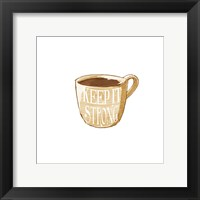 Keep It Strong Framed Print