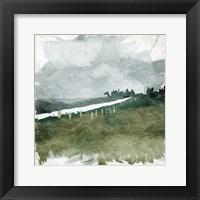 Calm Rain Framed Print