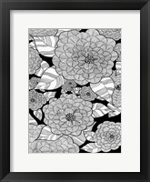 Framed Wild Hydrangeas