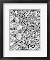 Jungle Flora 3 Framed Print