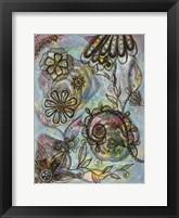 Framed Blooms Over Blooms 1
