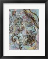Blooms Over Blooms 2 Framed Print