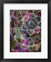 Radiant Lotus Framed Print