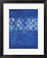 Framed Cobalt Circles