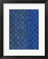 Framed Quatrefoil Blues