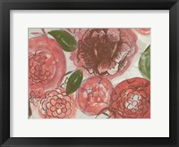Framed Marsala Bouquet 1