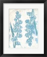 Framed Floral Blues