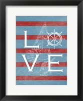 Love Shell Framed Print