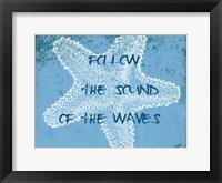 Coastal Sounds Framed Print