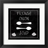 Framed French Onion Soup