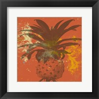 Framed Orange Pine