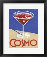 Framed Retro Cosmo