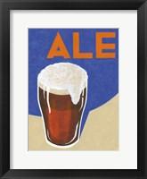 Framed Retro Ale