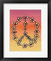 Framed Daisy Peace 1