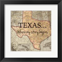 Framed Texas My Story