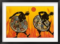 Framed Two Dancing Women