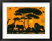 Framed Okawango Park