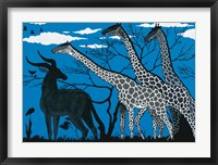 Framed Maasai Mara Park