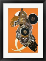 Framed African Masks II