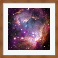 "Framed Taken Under the ""Wing"" of the Small Magellanic Cloud"