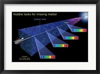 Framed Hubble Looks for Missing Matter