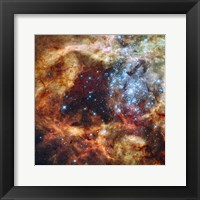 Framed Hubble's Festive View of a Grand Star-Forming Region