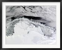 Framed Shackleton Ice Shelf, Antarctica