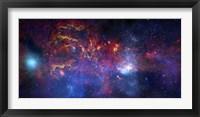 Framed central Region of the Milky Way Galaxy