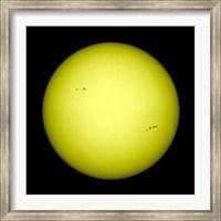 Framed Full view of the Sun