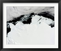 Framed Queen Mary Coast of Antarctica