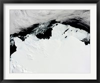 Framed Queen Mary Coast of Antarctica