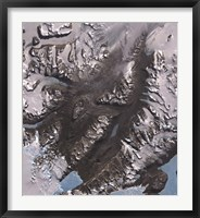 Framed McMurdo Dry Valleys West of McMurdo Sound, Antarctica