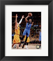 Framed Russell Westbrook 2014-15 Action