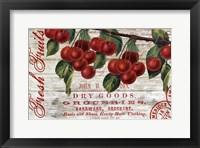 Framed Cherries I