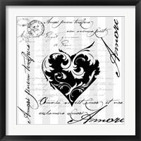 Framed Amore