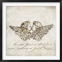 Framed Angel Kiss