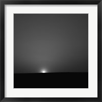 Framed Sunrise on Mars