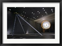 Framed Parachute Undergoes Flight-Qualification Testing inside a Wind Tunnel