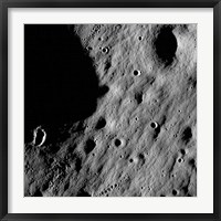 Framed Cratered Regions near the Moon's Mare Nubium Region