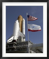 Framed Space Shuttle Endeavour 2