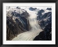 Framed Sondrestrom Glacier in Greenland