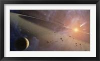 Framed Planetary System Epsilon Eridani