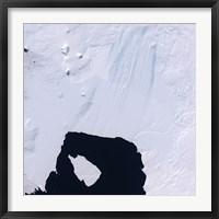 Framed Pine Island Glacier