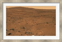 Framed Partial Seminole Panorama of Mars