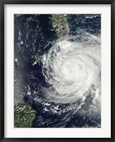 Framed Hurricane Ike over Cuba, Jamaica, and the Bahamas