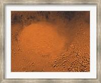 Framed Hellas Planitia Region of Mars